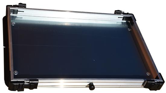 Rive Alufach mit Seitenschienen für das Koffersystem