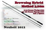 BROWNING Hybrid Method Feeder 3.60m 10-15 Gramm WG