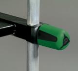 Rive Feststellknopf grün/schwarz, zwei stück