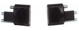Rive Verschluss-Stecker für F2 Sitzkiepen grau, 1 Paar