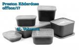 Preston Köderdose 3L schwarz für Baitstation