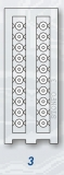 Stonfo Mikroperlen 3mm für Wagglermontagen, 80 Stück