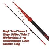 Quantum Teleforellenrute 3.90m Magic Trout Trema 1 mit 1-4g WG