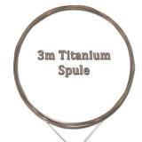 Titanium Wire 3m Vorfach-Spule, 5kg Tragkraft