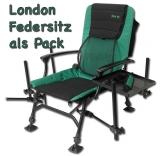 Sensas London Feeder Chair (Feedersitz) mit 25mm Beinen.