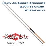 Mikado Heavy Jig Spinnrute 2.90m 55Gramm WG - Zanderrute