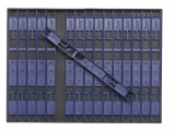 Sensas BOX + WICKELBRETTER, 19cm, 1.36cm breit, 32 Stück