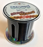 Cralusso Match Sinking Schnur sinkend, 500m Großspule 0.16-0.20mm