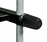 Rive Feststellknopf schwarz/grau, zwei stück