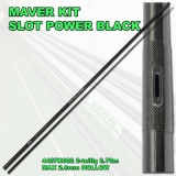 Maver Kit SLOT POWER BLACK 2.70m, 2.8mm Hohlgummi möglich