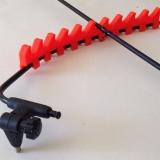 Frenzee Rod Rest Arm and Rod Rest (Feeder Auflage) - Orange