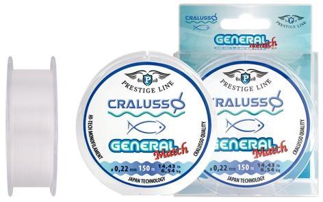 Cralusso General Match Schnur 150m 0,120 bis 0,22mm - Made in Japan!
