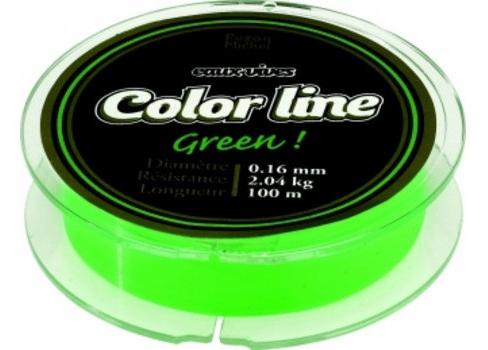 Pezon&Michel Schnur Color Line NEON-GRÜN 100m 0.185mm
