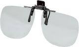 Brille Polarisationsbrille Aufsatz grau oder bernstein