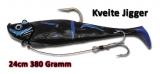 Quantum 380g Kveite Jigger, 24cm, neri