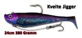 Quantum 380g Kveite Jigger, 24cm, deep purple