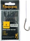 Browning Feeder Big Fish Vorfachhaken, bronze, 60cm 8 Stück